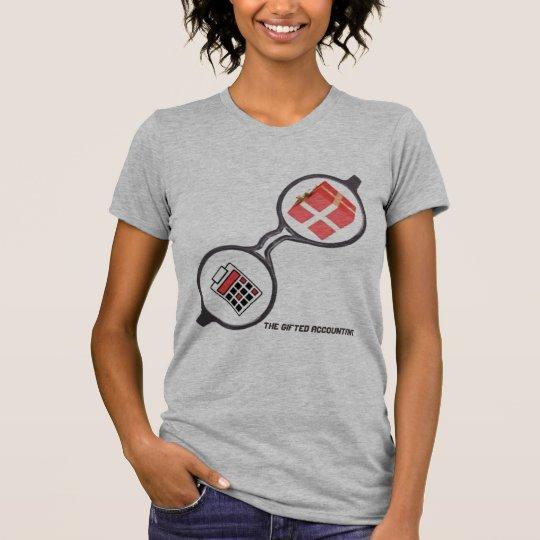 """Camiseta """"O logotipo dotado do contador """""""