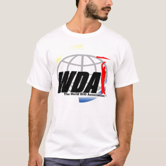 Camiseta O logotipo T de WDA