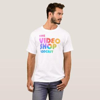 Camiseta O logotipo video do Podcast da loja