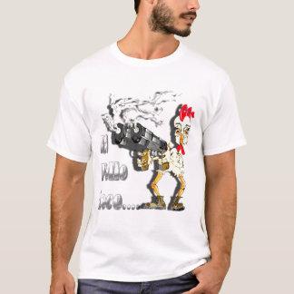 Camiseta O louco Pollo