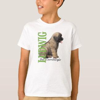 Camiseta O Ludwig do miúdo o t-shirt do filhote de cachorro