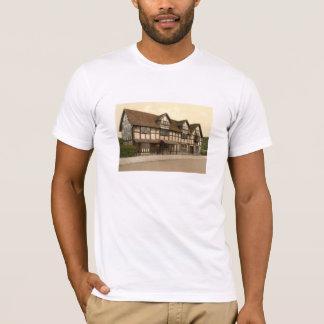 Camiseta O lugar de nascimento de Shakespeare, Stratford-em