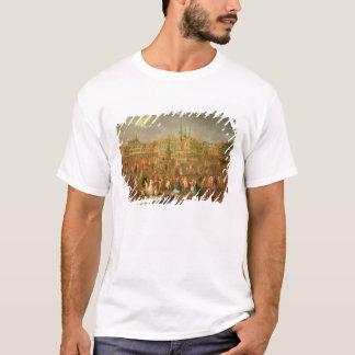 Camiseta O lugar grande durante o carnaval, Cambrai, 1765
