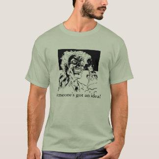 Camiseta o madscientist, alguém obteve uma ideia!