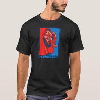 Camiseta O mágico de Oz de Denslow:: Coragem