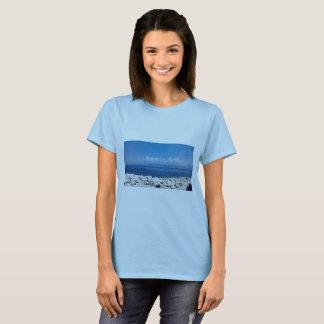Camiseta o mar do feriado