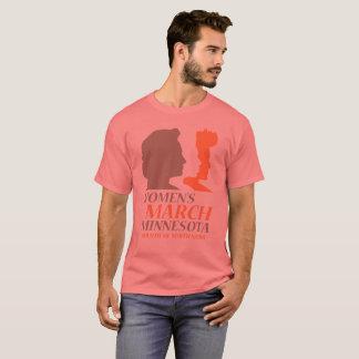 Camiseta O março edição de Minnesota das mulheres unisex,