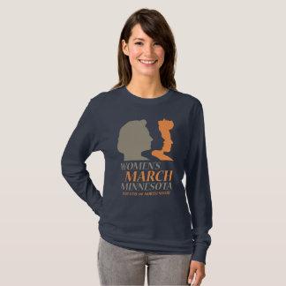 Camiseta O março edição LongSleeve de Minnesota das