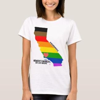 Camiseta O março SLO das mulheres - LGBTQ
