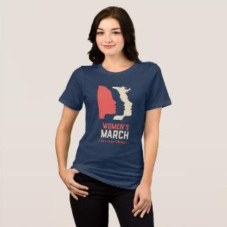 Camiseta O março SLO das mulheres - logotipo nacional