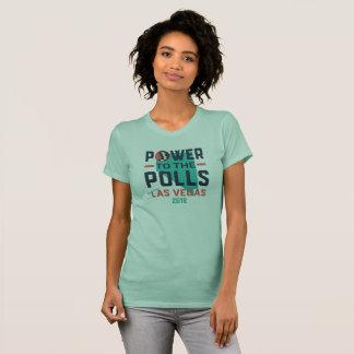 Camiseta O março T básico de Las Vegas das mulheres -