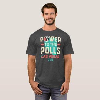 Camiseta O março T escuro de Las Vegas das mulheres -