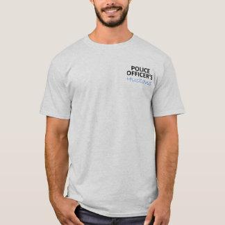 Camiseta O marido do agente da polícia