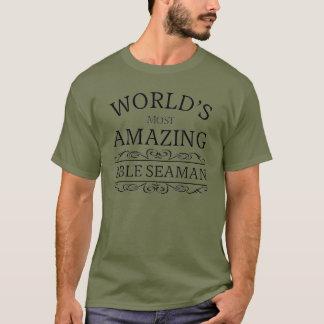Camiseta O marinheiro capaz o mais surpreendente do mundo