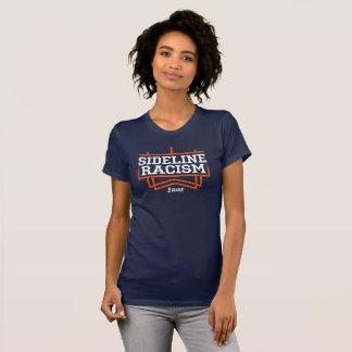 Camiseta O marinho/laranja das mulheres do t-shirt do