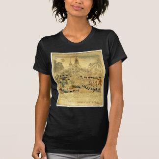Camiseta O massacre de Boston por Paul Revere