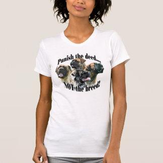 Camiseta O Mastiff pune o t-shirt da ação