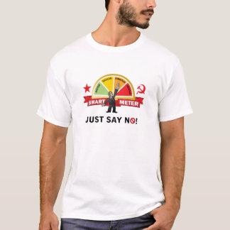 Camiseta O medidor esperto de Obama é comunismo
