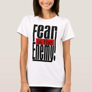 Camiseta O medo é o inimigo