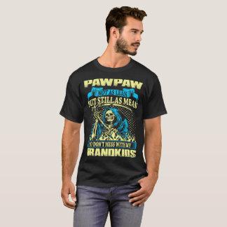 Camiseta O meio nao magro do Pawpaw ainda não suja com