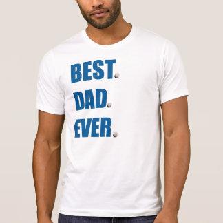 Camiseta O melhor basebol do pai nunca -