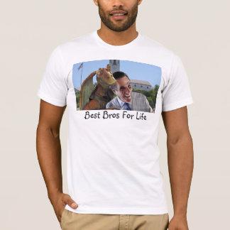 Camiseta O melhor Bros para a vida