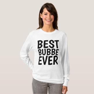 Camiseta O MELHOR BUBBE NUNCA, t-shirt judaicos da avó