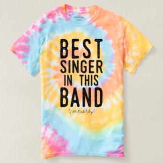 Camiseta O melhor cantor (provavelmente) (preto)