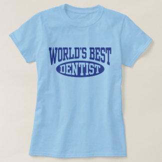 Camiseta O melhor dentista do mundo