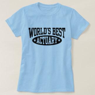 Camiseta O melhor escrivão do mundo