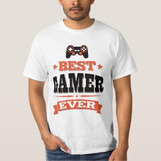 Camiseta O melhor Gamer nunca