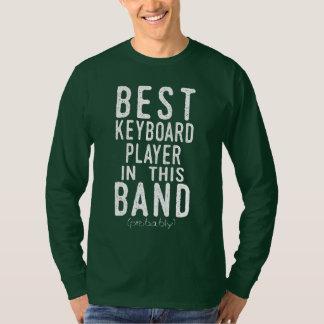 Camiseta O melhor jogador de teclado (provavelmente)