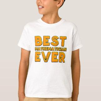 Camiseta O melhor matemático nunca