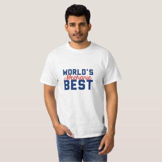 Camiseta O melhor mecânico do mundo