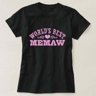 Camiseta O melhor MeMaw do mundo