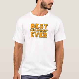 Camiseta O melhor millwright nunca