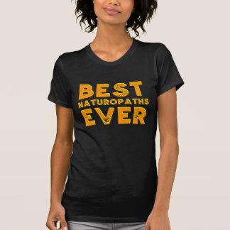 Camiseta O melhor naturopath nunca