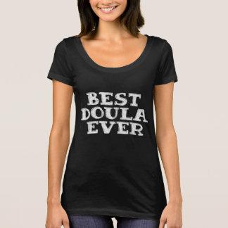 Camiseta O melhor obrigado do tshirt do doula nunca - você