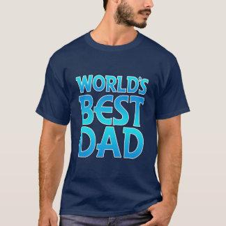 Camiseta O melhor pai do mundo