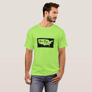 Camiseta O melhor pai em América