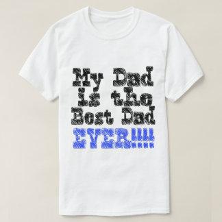 Camiseta O melhor pai NUNCA por meu estado de espírito