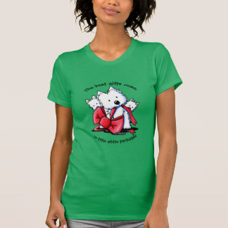 Camiseta O melhor presente Westies