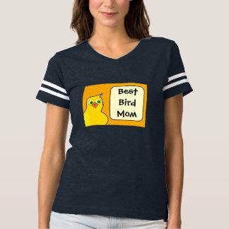 Camiseta O melhor t-shirt da mamã do pássaro - todas as
