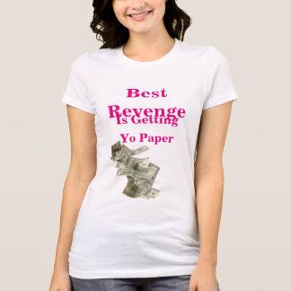 Camiseta O melhor t-shirt da vingança