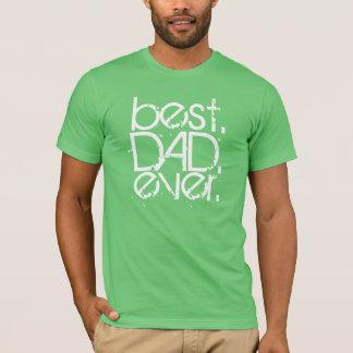 Camiseta o melhor t-shirt do dia dos pais do PAI nunca