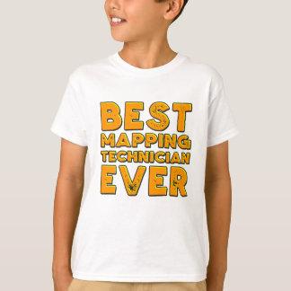 Camiseta O melhor técnico de traço nunca