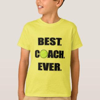 Camiseta O melhor treinador do tênis nunca