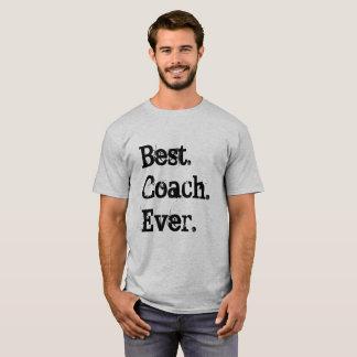Camiseta O melhor treinador nunca