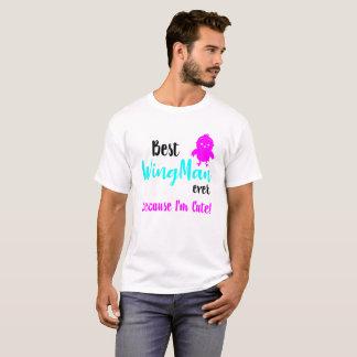 Camiseta O melhor WingMan - ímã do pintinho