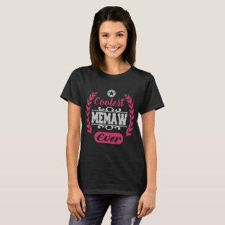 Camiseta o memaw o mais fresco nunca, memaw, o mais fresco,